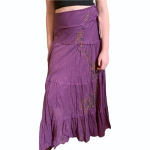 Purple Witchy Skirt